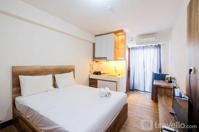 Simple and Homey Studio Room at Cinere Resort Apartment By Travelio