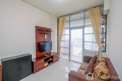 Great Choice and Strategic 2BR Apartment Salemba Residence By Travelio