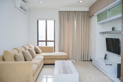 Homey and Modern Tamansari Semanggi 2BR Apartment By Travelio