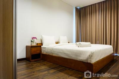 Elegant 2BR Apartment Veranda Residence @ Puri By Travelio