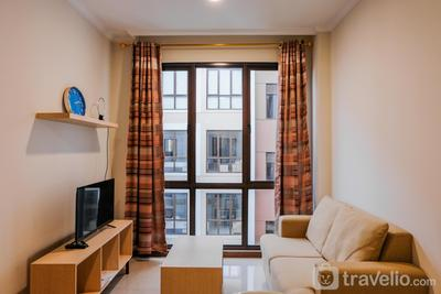 Homey 1BR at Assati Garden House Apartment By Travelio