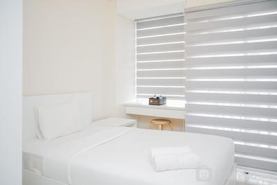 Simply Furnished and Cozy Living Studio @ Saveria Apartment By Travelio