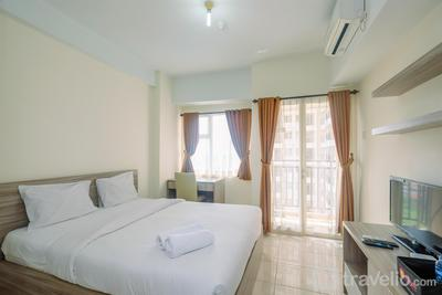 Comfy and Simply Studio Apartment at Margonda Residences 3 By Travelio
