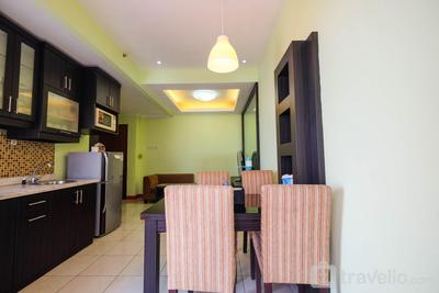 2BR Sudirman Park Apartment in Jakarta's CBD Area By Travelio