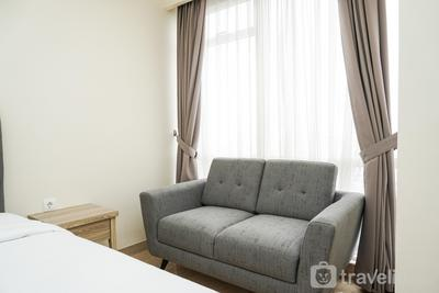 Fully Furnished Studio Menteng Park Apartment By Travelio