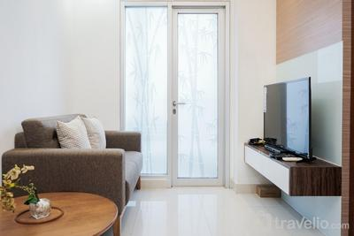 Best and Good for 2BR Apartment at Capitol Park Residence By Travelio