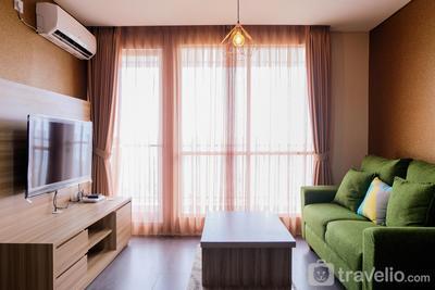 Luxury 2BR with City View Bintaro Icon Apartment By Travelio