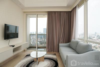 Cozy with Private Lift 2BR at Menteng Park Apartment By Travelio