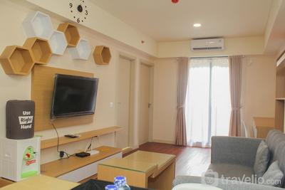 Comfort and Nice 2BR at Meikarta Apartment By Travelio