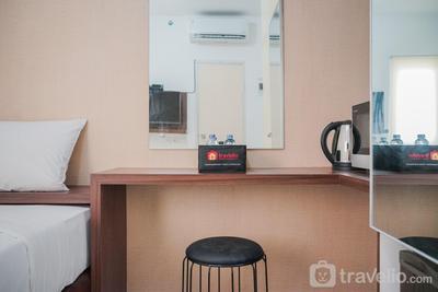 Super Cozy Studio (No Kitchen) Apartment at Aeropolis Residence 3 By Travelio