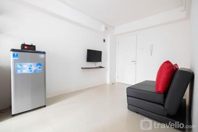 Simple & Cozy 1BR @ Bassura Apartment Near to Bassura City Mall By Travelio