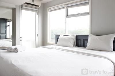 Spacious & Trendy Studio at Jarrdin Cihampelas Apartment By Travelio