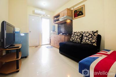 Homey 2BR @Green Pramuka Apartment By Travelio