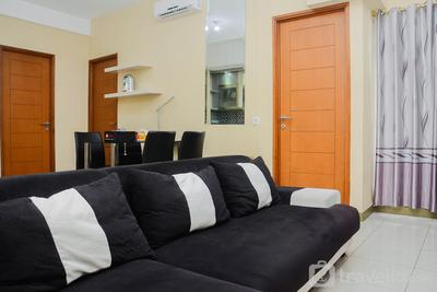 Cozy and Modern 3BR Apartment at Gading Greenhill By Travelio