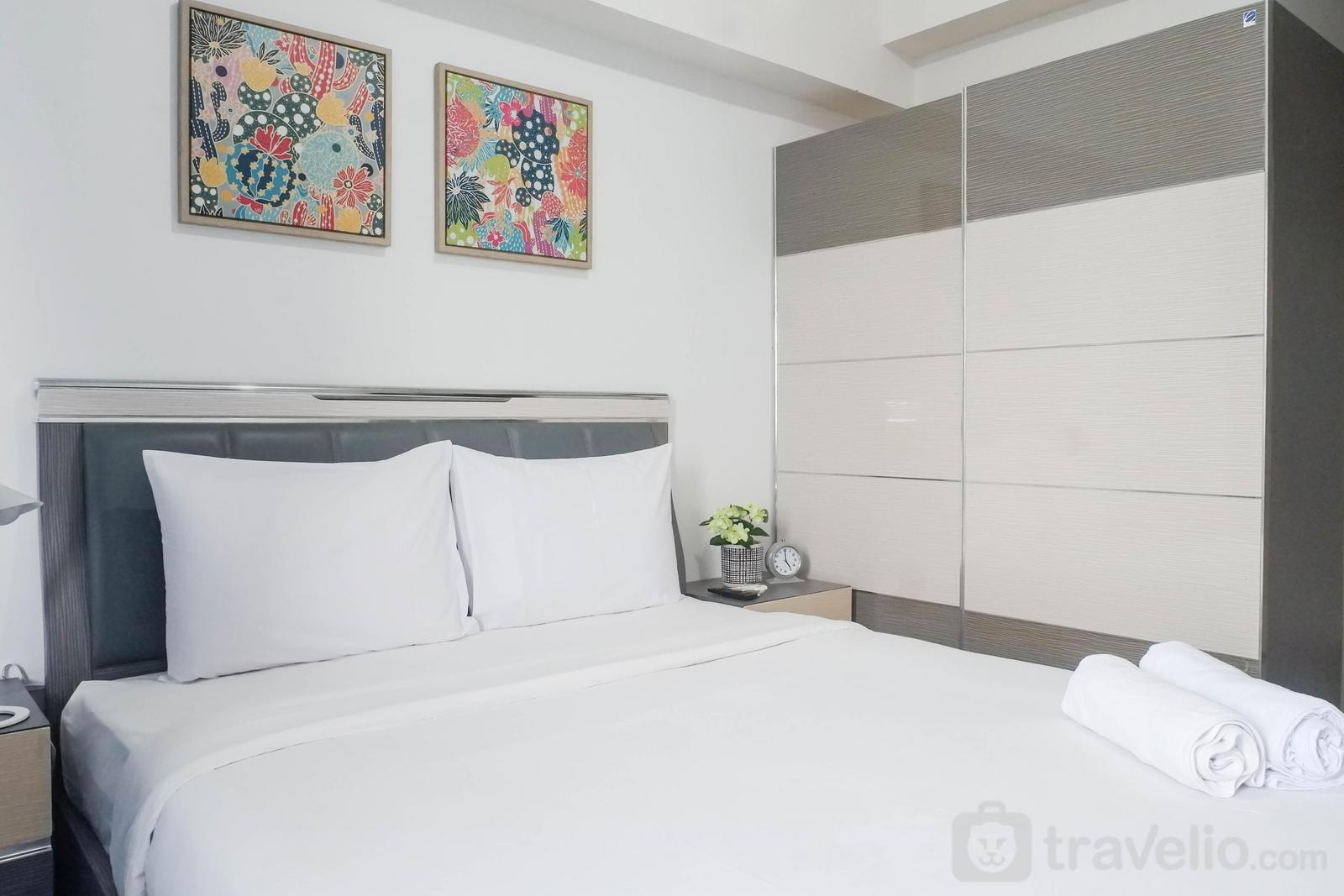Apartemen Supermall Mansion - Best Value & Clean Studio Room Apartment Connected to Mall at Tanglin Supermall Mansion By Travelio