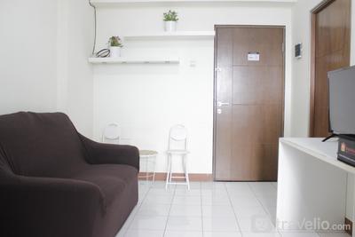 Compact 2BR Apartment at Gateway Ahmad Yani Cicadas By Travelio