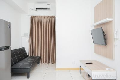 Cozy Living 2BR at M-Town Residence Apartment By Travelio