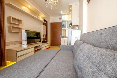 Modern Apartment 2 BR Northland Ancol Residence Near Ancol By Travelio