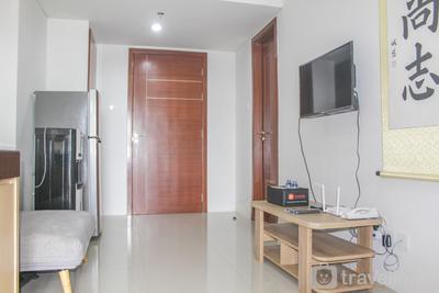 Strategic 2BR Apartment at Vittoria Residence By Travelio