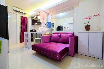 Comfy 2BR Bassura City Apartment near Mall By Travelio