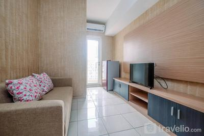 Comfortable and Lovely 2BR Apartment at Springlake Summarecon By Travelio