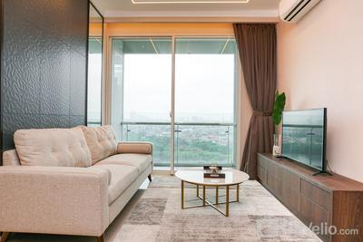 Minimalist and Cozy 2BR Citralake Suites Apartment By Travelio