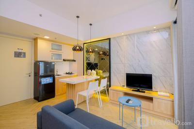 Relax 3BR Apartment at M-Town Residence By Travelio