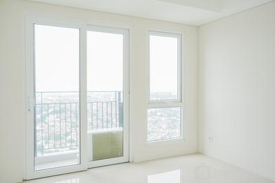 1BR Unfurnished Apartment with AC & Internet Access @ Bintaro Plaza Residence By Travelio