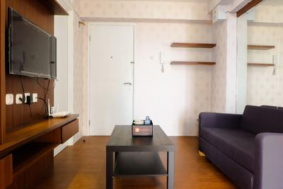 2BR Modern Room Bassura Apartment With Direct Access To Shopping Center By Travelio