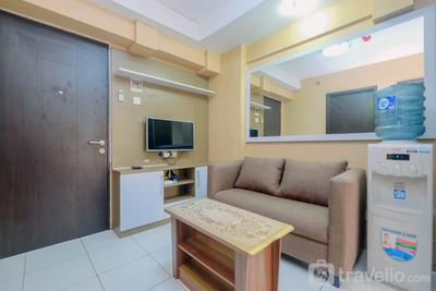 Warm and Homey 2BR Apartment at Kebagusan City By Travelio