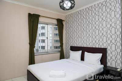 Compact 1BR Apartment at Mediterania Marina Residences By Travelio