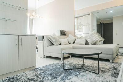 Luxury Room Renovated 2BR Sudirman Park CBD Area Apartment By Travelio