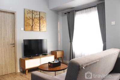 Deluxe 2BR Apartment at Newton Residence with Mountain View By Travelio