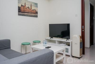 Comfy and Modern 1BR The Accent Bintaro Apartment By Travelio