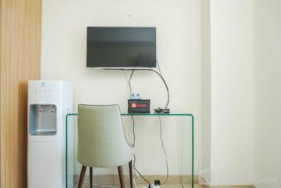 Wonderful and Clean Studio at Menteng Park Apartment By Travelio
