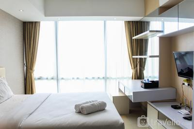 Minimalist and Stylish Studio U Residence 2 Apartment By Travelio