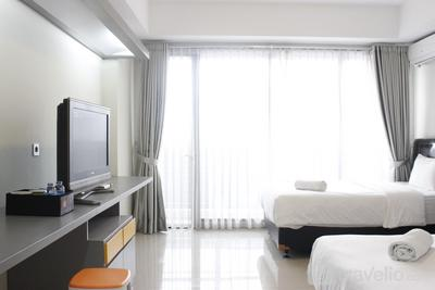Scenic Studio Apartment at Beverly Dago near ITB By Travelio