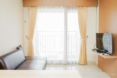 Fully Furnished with Comfortable Design 2BR Apartment Atria Residences By Travelio