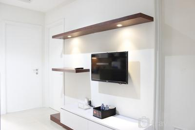 Bright & Cozy 2BR Apartment at Parahyangan Residence By Travelio