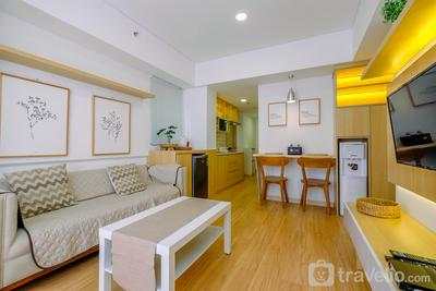 Comfy and Homey 2BR at Meikarta Apartment By Travelio