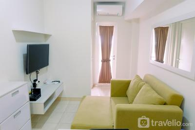 Clean 2BR Apartment @ Springlake Summarecon By Travelio