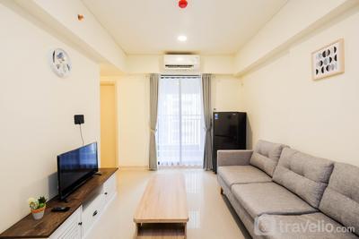 Cozy 2BR at Meikarta Apartment By Travelio