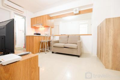 City View 2BR Bassura City Apartment By Travelio