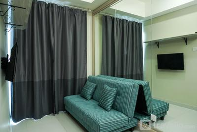 Best 1BR with Sofa Bed Puri Mansion Apartment By Travelio