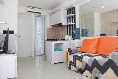 Strategic 2BR at Bassura City Apartment By Travelio
