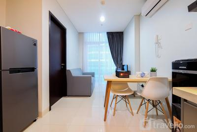 Well Furnished 1BR Brooklyn Apartment Alam Sutera By Travelio