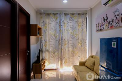 Homey 2BR Asatti Apartment at Vanya Park BSD By Travelio