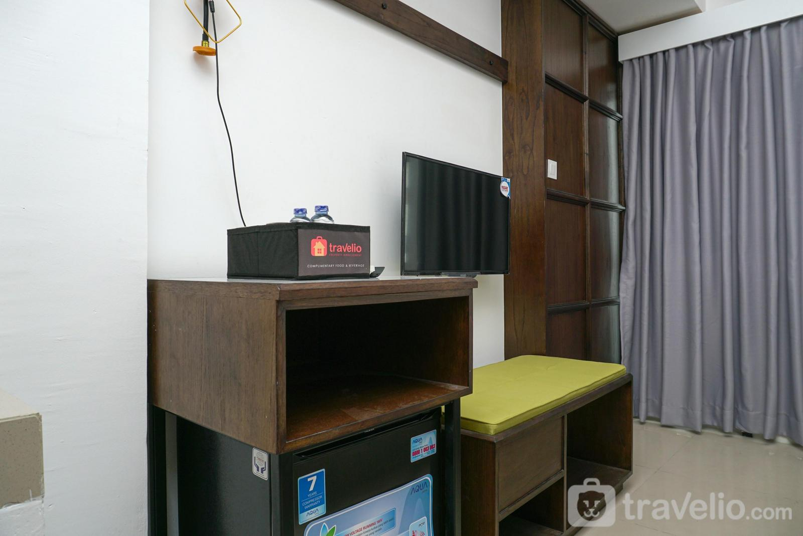 The Nest Puri - Furnished Studio with City View at The Nest Apartment By Travelio