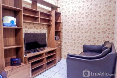 Strategic 2BR Menteng Square Apartment By Travelio