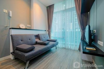 Elegant 1BR at Brooklyn Apartment near Alam Sutera By Travelio
